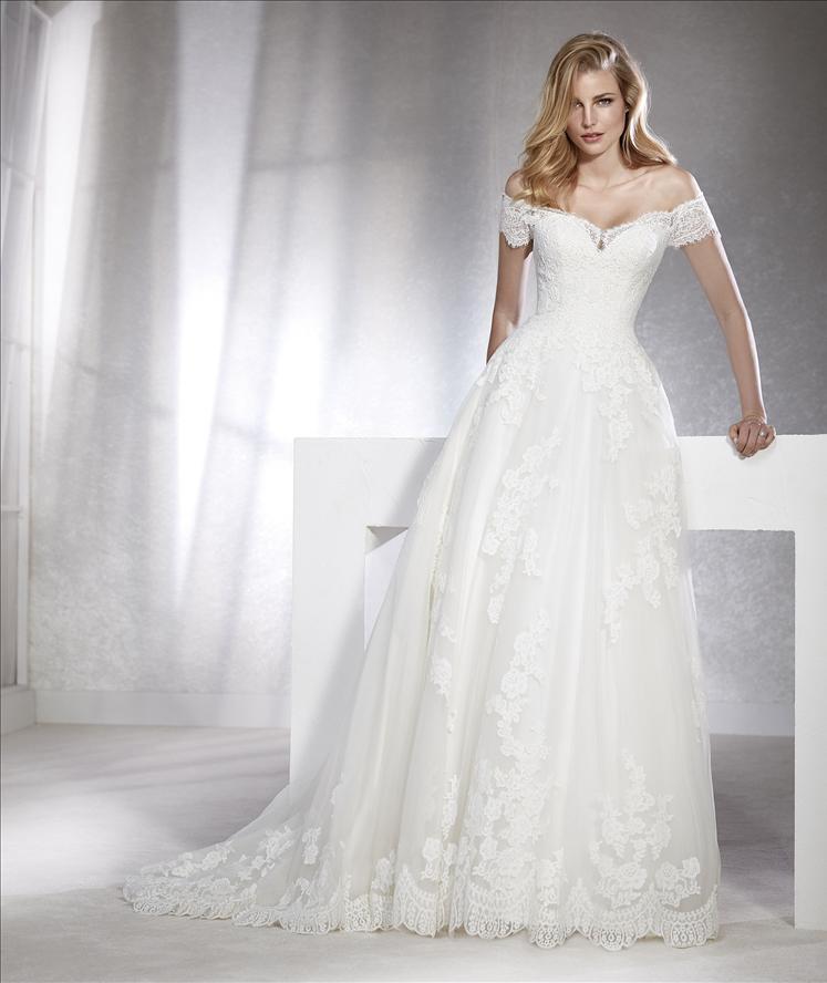 vestido de novia fabiana - tienda vestidos de novia linares - jaén