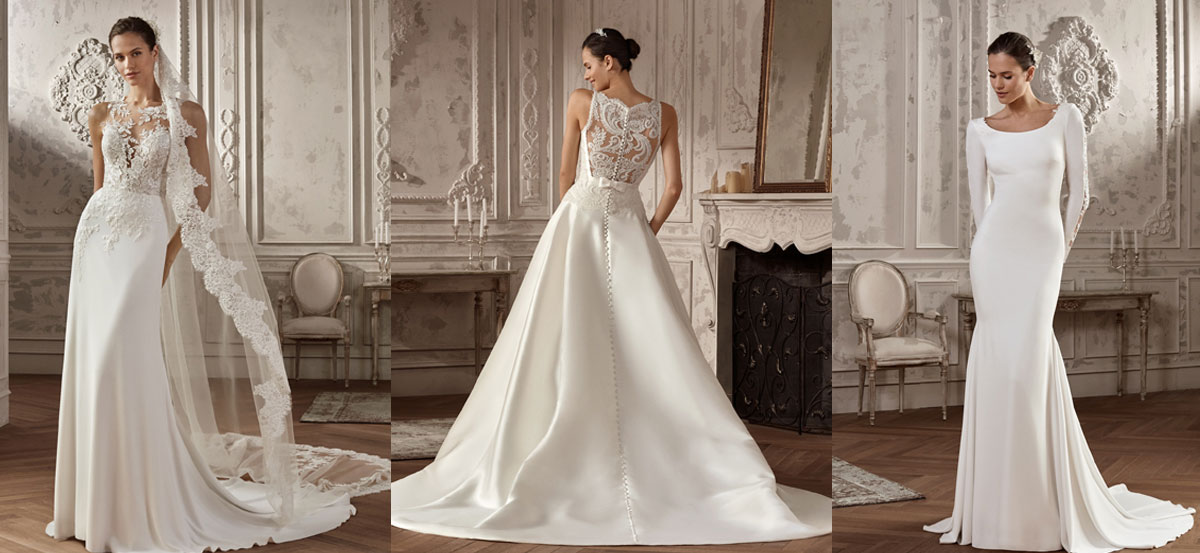 Gacela novias vestidos de novia y fiesta