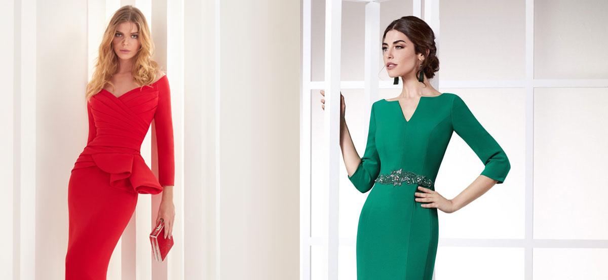 Vestidos de fiesta y vestidos de madrina 2019