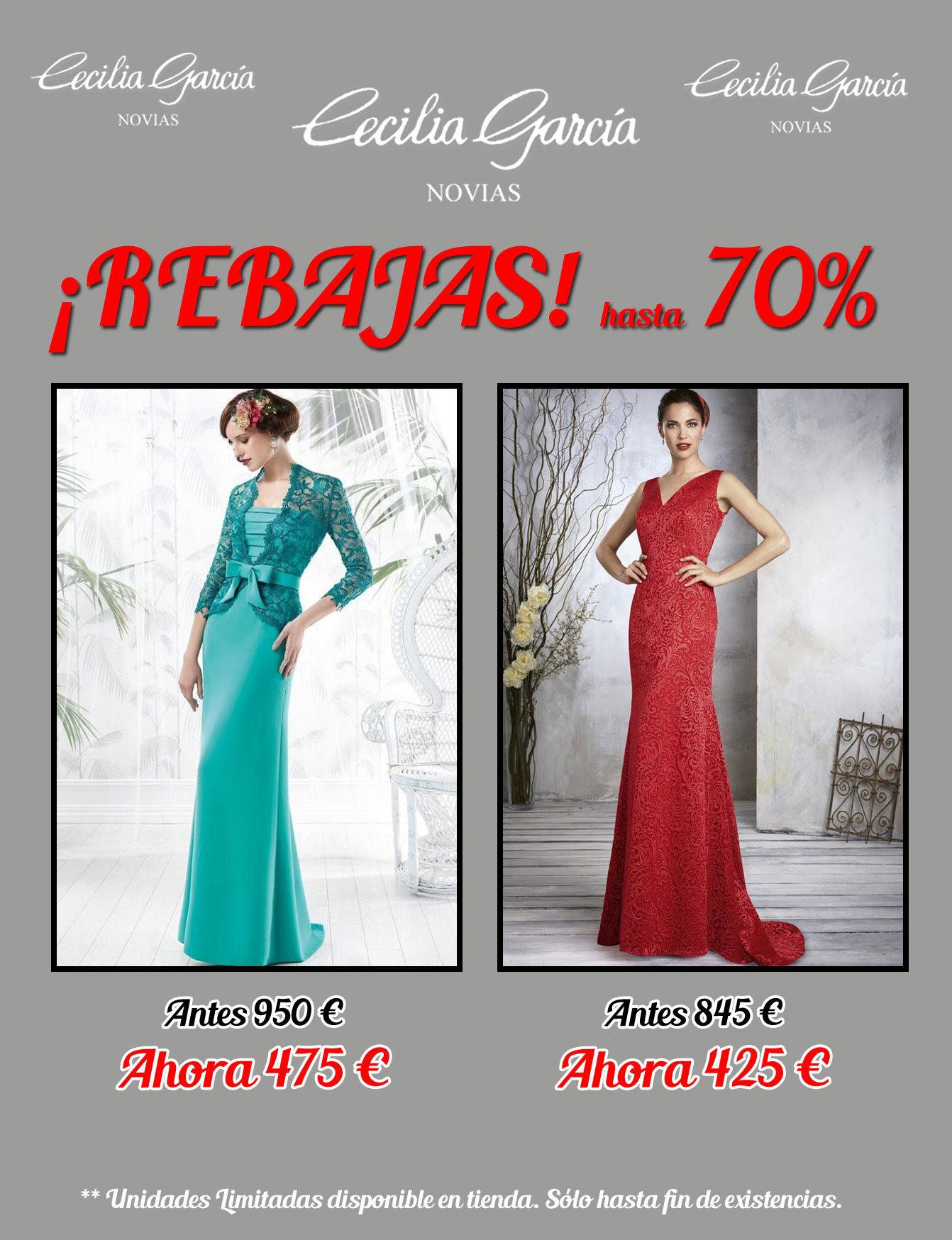 840a77dd3 vestidos de fiesta con descuento en Cecilia García Novias - Tienda ...
