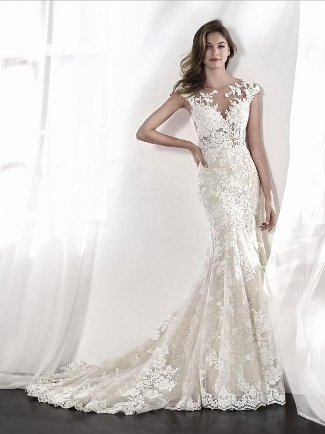 vestido de novia leticia - tienda vestidos de novia linares - jaén