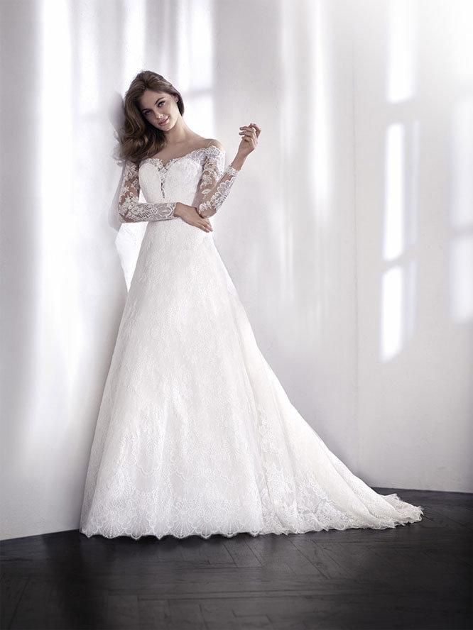 vestido de novia lorena - tienda vestidos de novia linares - jaén